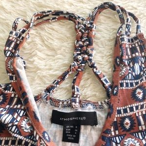 ♥️DONATING JULY 31♥️ Tribal Braided Top